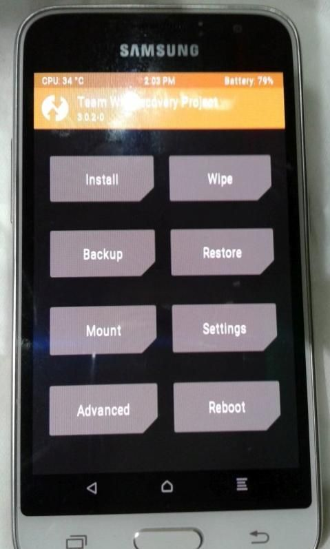 Samsung : آموزش روت j120h  (رایگان)