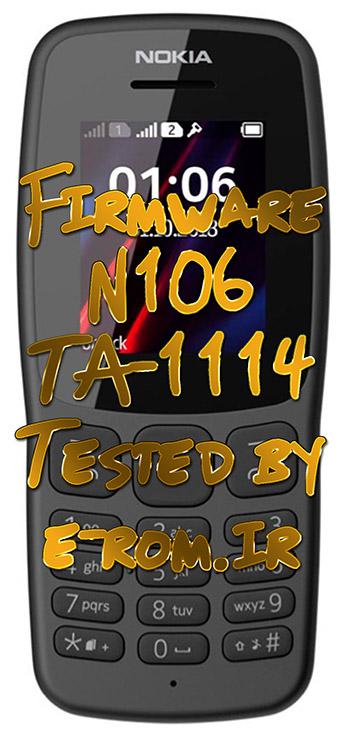 Nokia : فایل فلش نوکیا 106 TA-1114